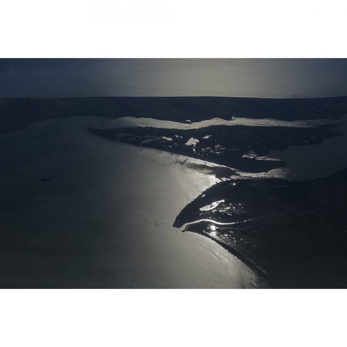foto de la vista aerea de un aguila real dibujada en la tierra en tamaulipas